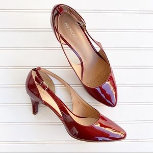 Andrea Zapatillas Red heels Size 10 New w/out box